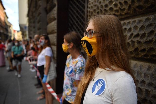 Vidnyánszky Attila szerint az Amnesty képezte ki a tiltakozó diákokat