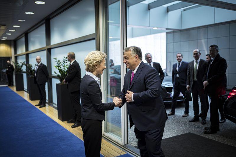 Orbán Ursula von der Leyennél árulkodott a cseh biztosnő kijelentése miatt