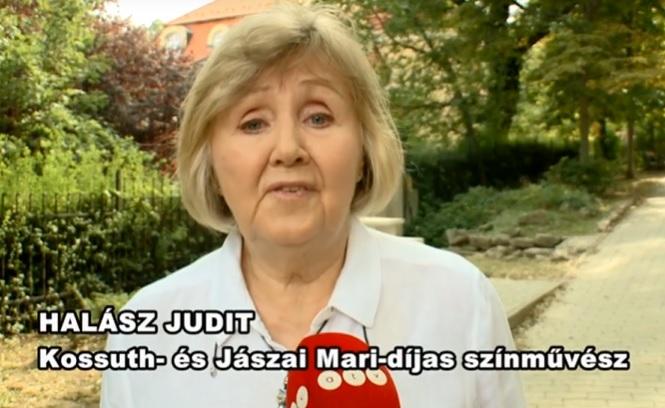 Halász Judit is elmondta véleményét a Színművészeti Egyetem ügyében