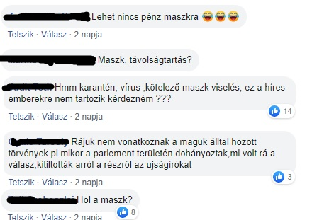 A lakosságnak kellett figyelmeztetnie a fideszes polgármestert, hogy hordjon maszkot – így reagált a beszólásokra