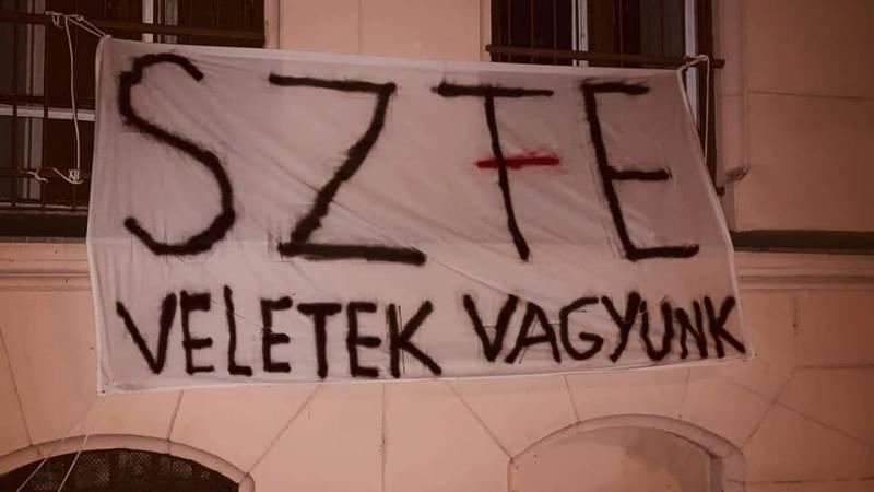Mucsi Zoltán, Szabó Győző, és még számtalan sztár fog holnap az SzFE-ért tüntetni – Itt a teljes névsor