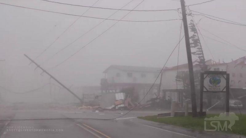 Halálos áldozatokat szedett és tetemes anyagi károkkal járt a Zeta hurrikán az amerikai Délen