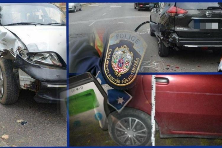 Ittasan, jogosítvány nélkül okozott balesetet egy férfi