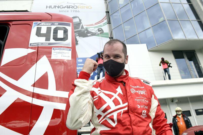 Kiss Norbert győzött a kamion Eb magyarországi futamán