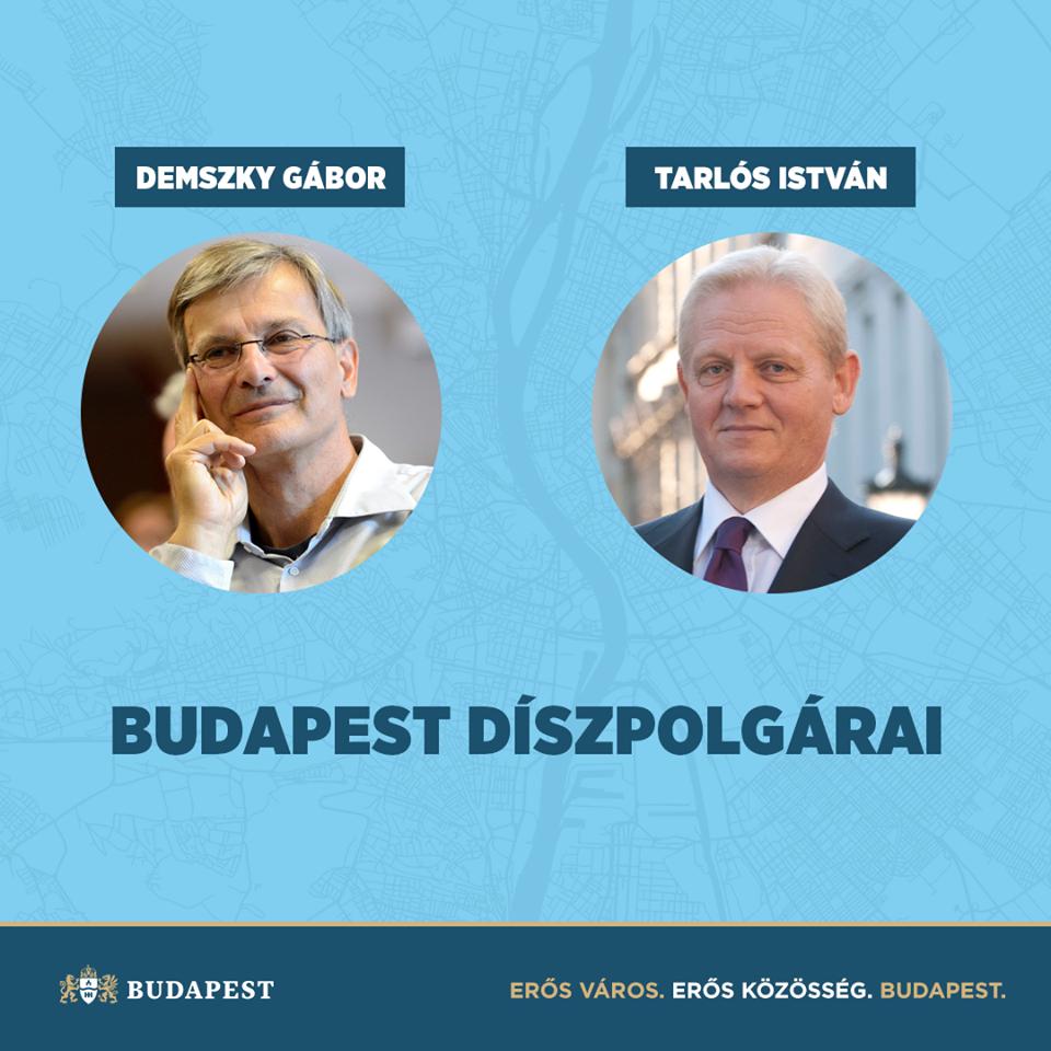 Karácsony Gergely: Demszky és Tarlós sokat tett Budapestért