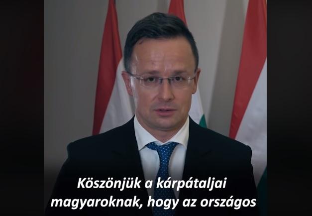 Szijjártó szerint nonszensz, hogy az ukránok bekérették a magyar nagykövetet