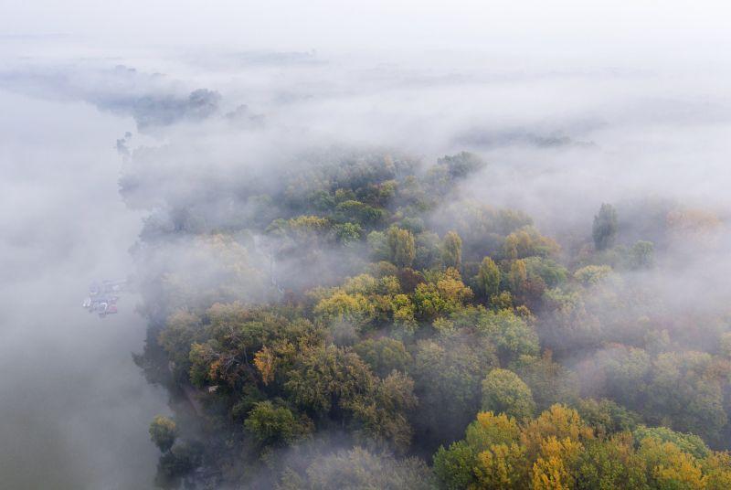 Támad a sűrű köd, veszélyjelzést adott ki a meteorológiai szolgálat