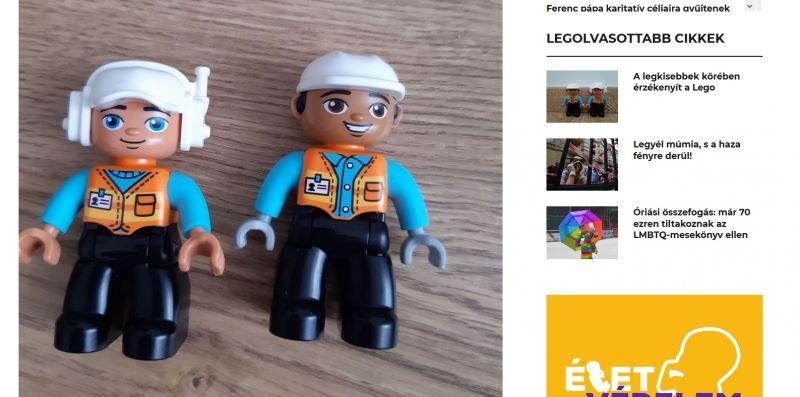 Elfogadhatatlannak tartja, hogy fekete bőrű Lego-figurát talált a kormánymédia írója – Rögtön ideológiai támadást vizionált