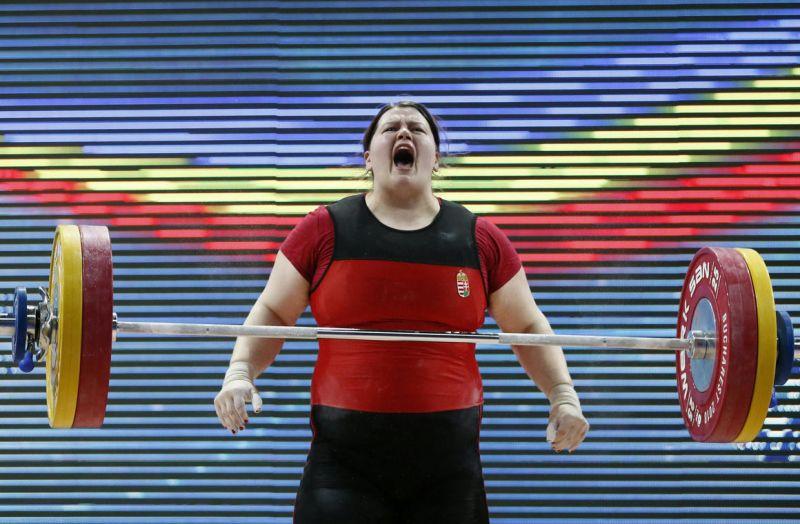 Doppingvétség miatt nyolc évre eltiltották a magyar súlyemelőnőt