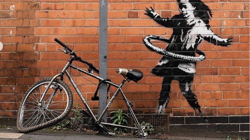 Banksy elismerte: ő fstette a nottinghami házfalon feltűnt graffitit
