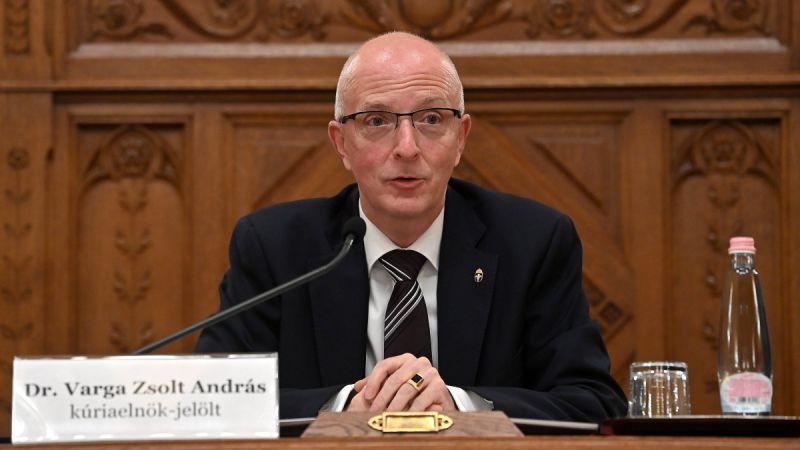 Megszavazta a Fidesz-frakció Áder bírói múlttal nem rendelkező jelöltjét a Kúria elnökének