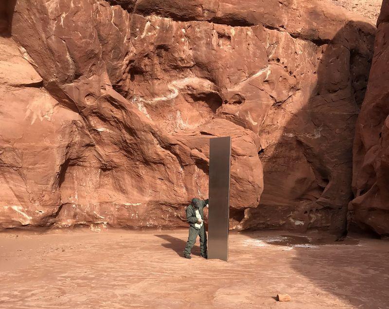 Már nem titok, hogy hol áll a monolit, amiről senki nem tudja, hogy micsoda