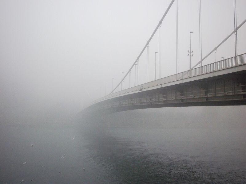 Folytatódik a pocsék ködös, nyirkos idő