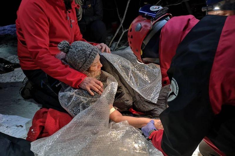 A Barlangi Mentőszolgálatot riasztották egy bajbajutott túrázóhoz a Pilisben