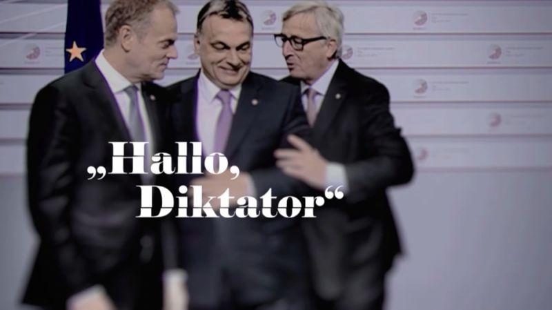 """Érkezik magyarul is az Orbánról szóló film, a """"Hallo, Herr Diktator"""""""