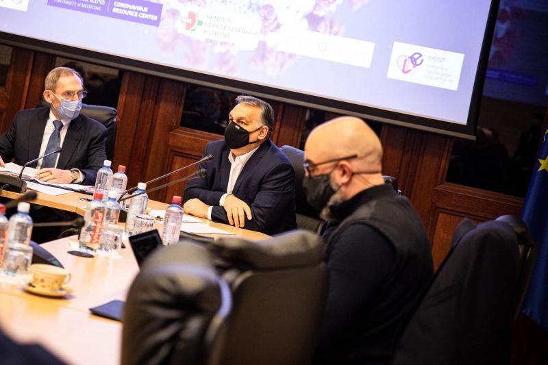 Orbán szerint sikerült megállítani a járvány második hullámát