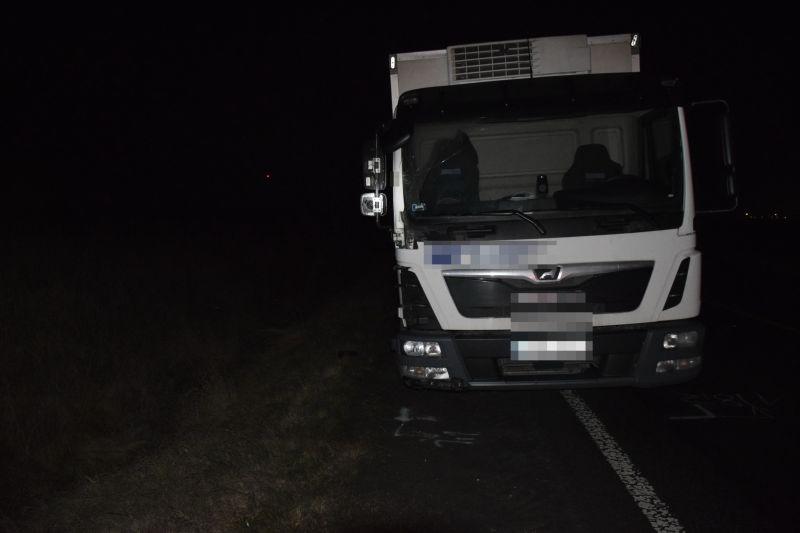 Teherautó gázolt halálra egy gyalogost Törökszentmiklósnál