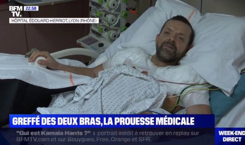 Franciaországban elvégezték a világ első dupla kar- és válltranszplantációját