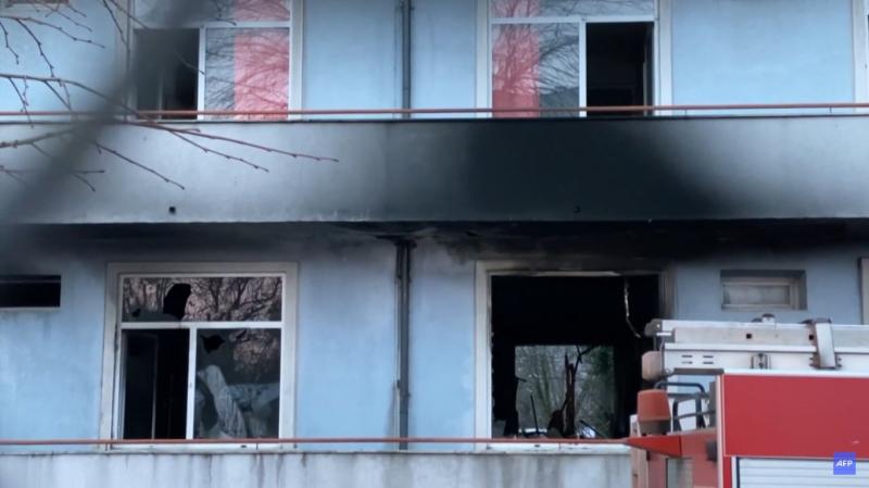 Hősugárzók miatt éghetett le egy román kórházi osztály, megölve több koronavírusos beteget