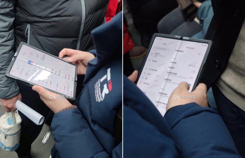 Lefotózták a hajlítható Xiaomi telefont