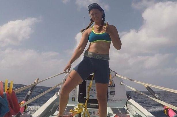 Egy 21 éves brit a legfiatalabb nő, aki átevezett az Atlanti-óceánon