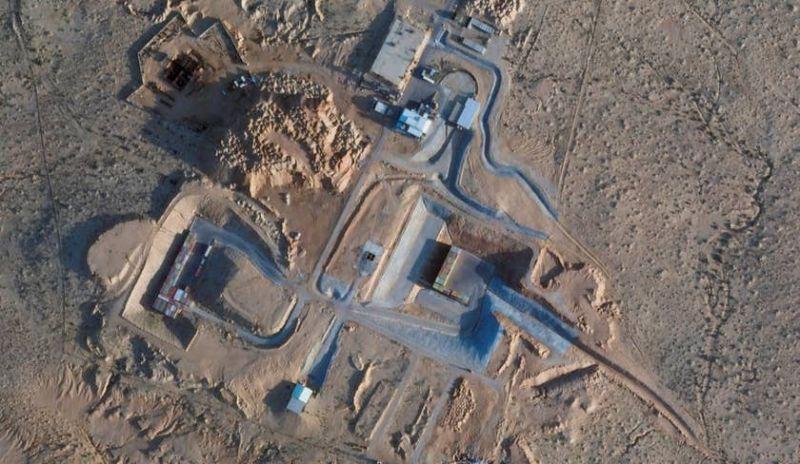 Focipálya-méretű építkezés folyik Izrael atomreaktoránál