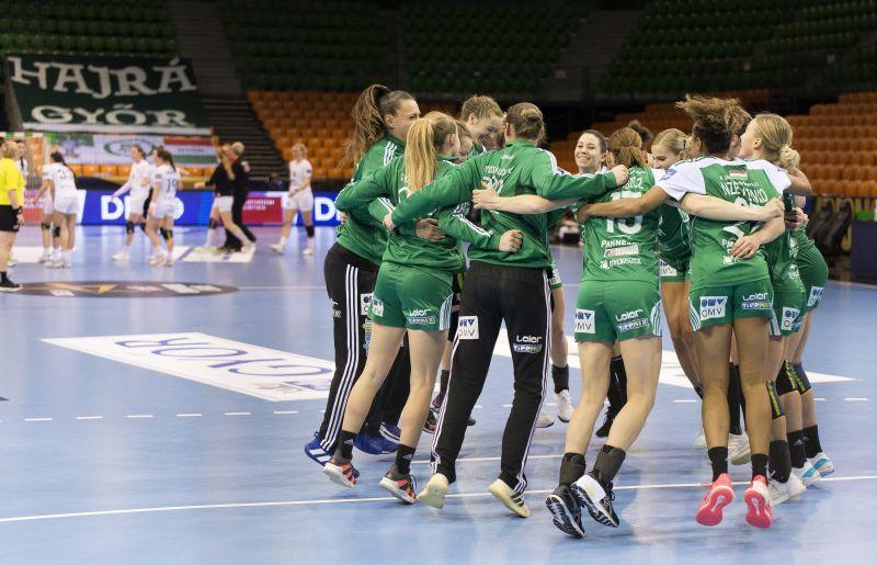 A Győr csoportelsőként jutott a nyolcaddöntőbe a női kézilabda BL-ben
