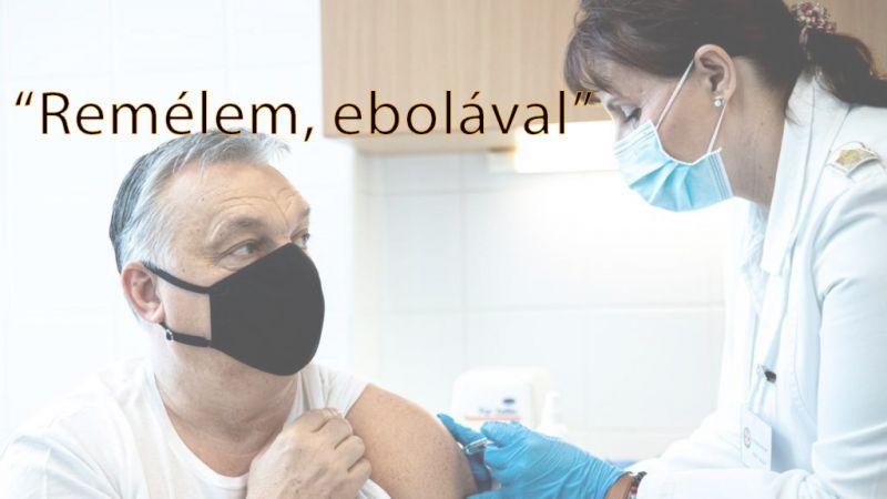 Kiakadt a képviselő: Remélem, ebolával – írta az Orbán beoltásáról készült fotóhoz