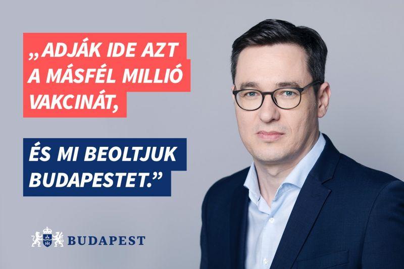 Karácsony Gergely elkérte a kormány által nem lehívott EU-s vakcinákat Budapestnek