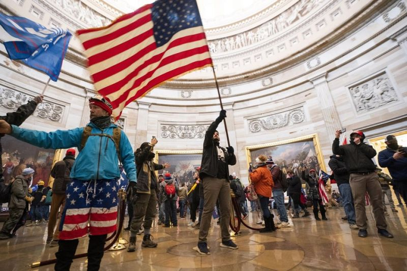 Az FBI terrorcselekménynek minősítette a Capitolium elleni támadást