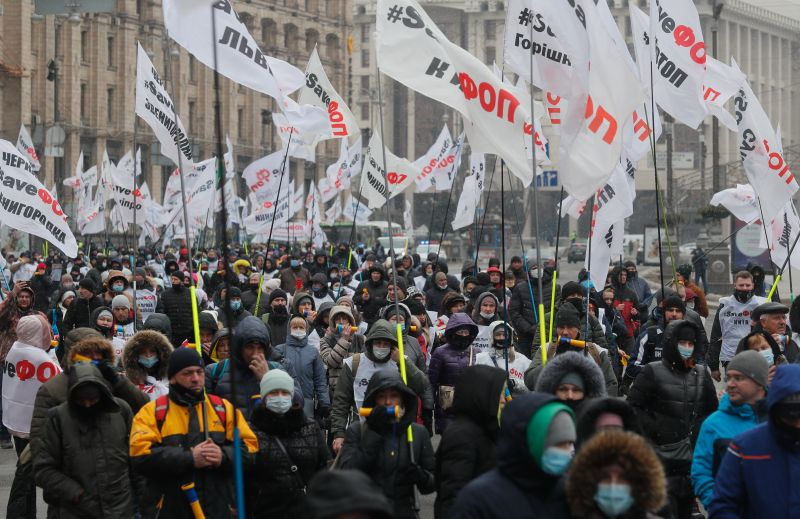 Ukrajnában tovább gyorsul a koronavírus terjedése – A számok elrettentőek