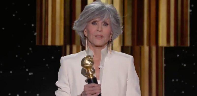 Jane Fonda az életműdíjat nyert és korszakos beszédet mondott, A korona című sorozat vitte a Golden Globe-ot