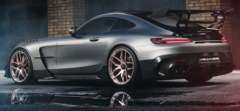 Ilyet ritkán látni – Brutálisan erős lett a valaha készült legerősebb V8-as Mercedes-AMG