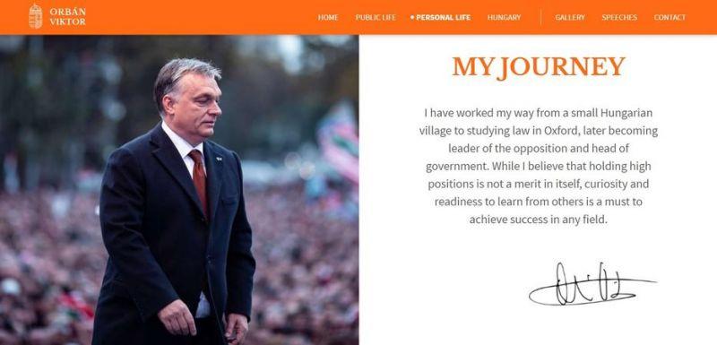 Soros-ösztöndíjával dicsekszik Orbán Viktor