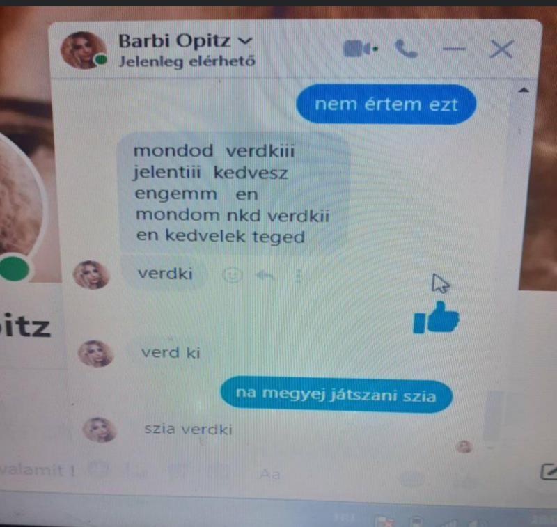 Döbbenet: pedofil élt vissza Opitz Barbi nevével