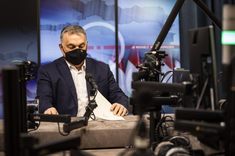 Orbán újabb beoltottsági küszöbszámot jelentett be