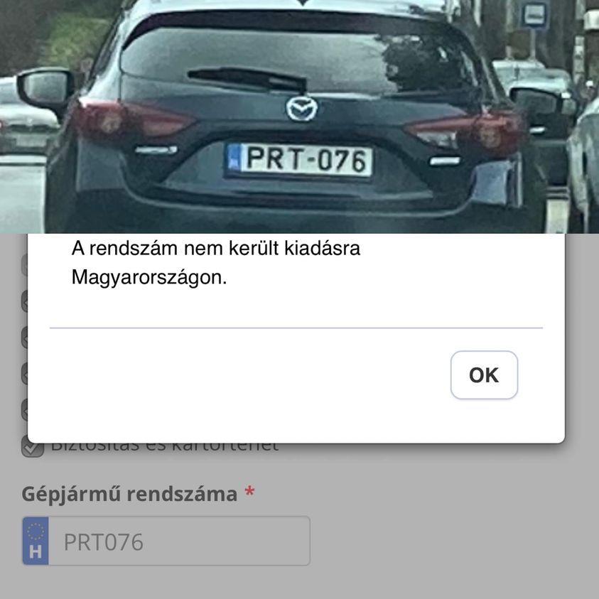 Nyomoz a rendőrség a Gyurcsány ügyvédjét követő Mazda rendszáma miatt, ami hivatalosan nem is létezik