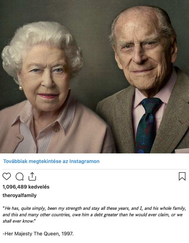 Megható: így búcsúzott Erzsébet királynő Fülöp hercegtől