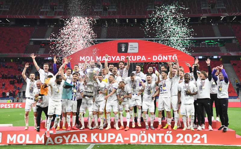 Nagy meglepetésre az Újpest nyerte a labdarúgó Magyar Kupát