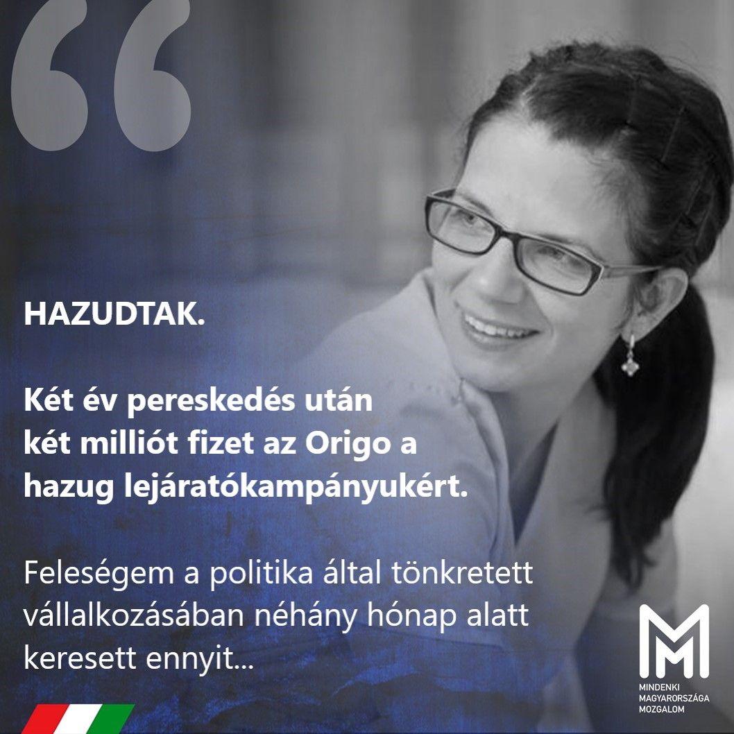 Cikkek özönével egy csecsemő halálért tette felelőssé Márki-Zay feleségét, most kétmillió forint sérelemdíjat kell fizetnie az Origónak