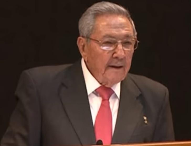 Lemondott Raúl Castro