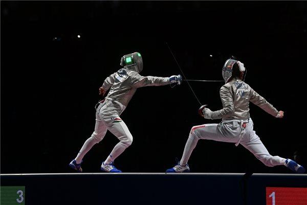 Megvan az első aranyunk: Szilágyi Áron háromszoros olimpiai bajnok