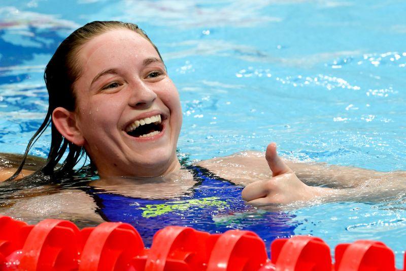 Egyedül Hosszú Katinka tudta leúszni a 17 éves magyar lányt, aki olimpiai A-szintet úszott 400 vegyesen