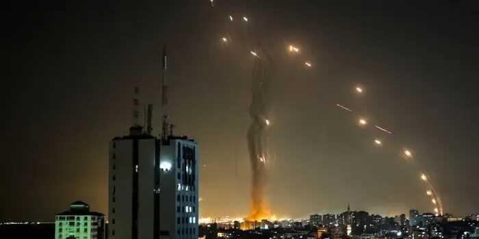 Döbbenetes felvételek: így védi a Vaskupola Tel-Avivot – videó