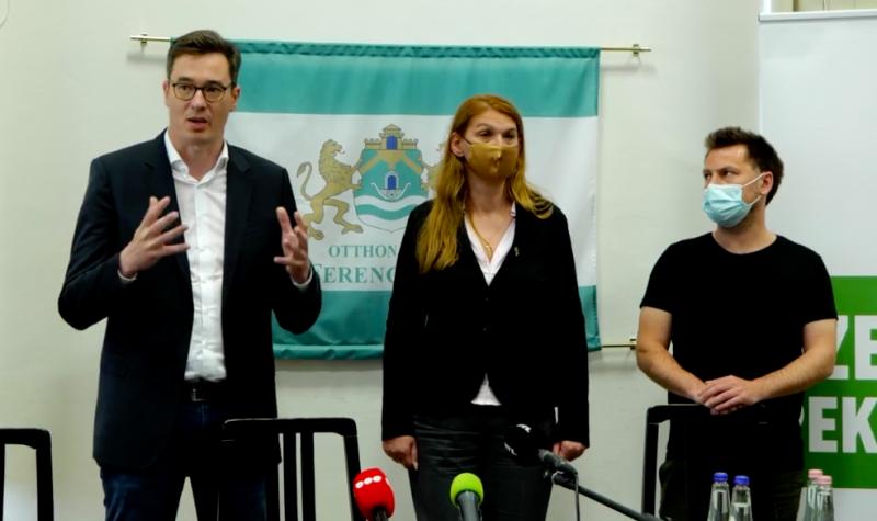 Karácsony élő videóban: Minden lehetséges jogi-politikai eszköz megragadunk, hogy a Diákváros megépüljön, a Fudan pedig ne