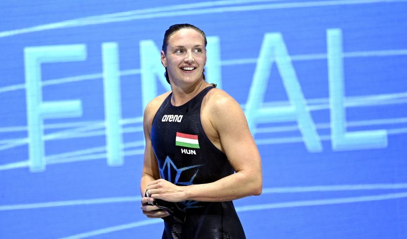 Hosszú Katinka Európa-bajnok 400 vegyesen, Mihályvári ezüstérmes