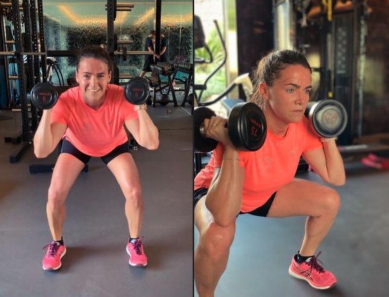 Folytatódik az izmozás: Szijjártó és Jakab után Novák Katalin is edzőteremből posztolt – mutatjuk
