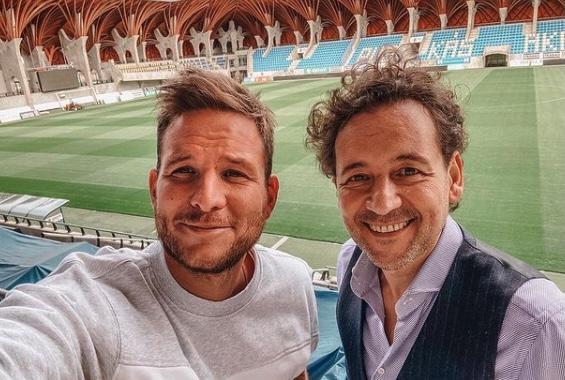 Orbán stadionjában járt Istenes Bence: Kerestem a főnök alagútját, de nem találtam