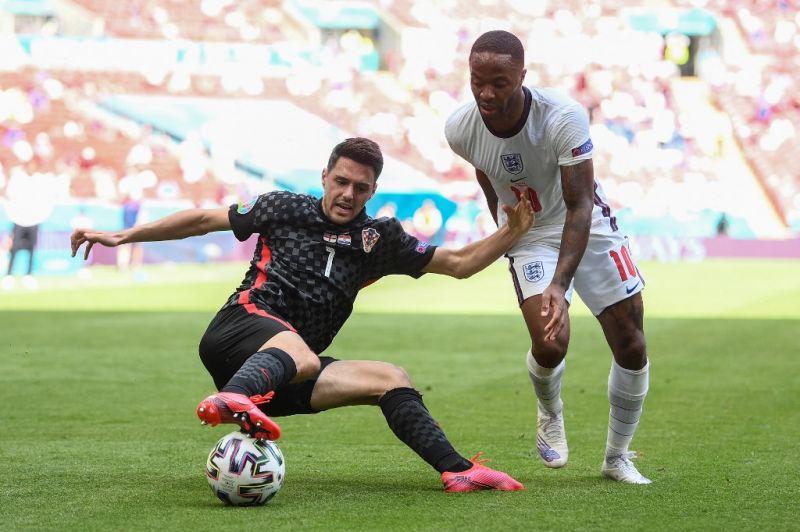 Sterling góljával győztek az angolok a horvátok ellen