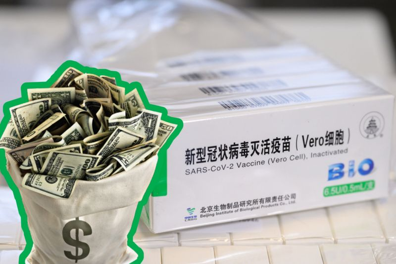 Több mint hárommillió adag kínai vakcina maradt a magyar állam nyakán, 35 milliárd forintot buktunk rajta